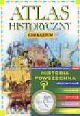 Atlas historyczny - Gimnazjum (z płytą CD)