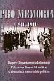 Gmitruk J., Indraszczyk A., Koseski A. (wybór i opr.) - Pro Memoria (1941-1944). Raporty Departamentu Informacji Delegatury Rządu RP na Kraj o zbrodniach na narodzie polskim
