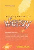 Chrzanowski Maciej - Interpretacja wierszy dla klasy gimn. /Skrypt/
