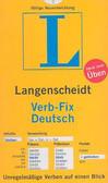 3468340540 - Langenscehidt Verb Fix Deutsch