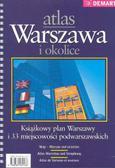 Warszawa i okolice. Atlas
