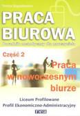 Bogusławska Teresa - Praca biurowa cz2 poradnik metodyczny /Rea/
