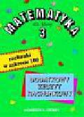A. Demby - Matematyka 3. Rachunki w zakresie 100