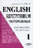 Cieślak Małgorzata - English Repetytorium tematyczno - leksykalne 1