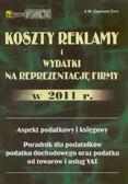 Żaro Z. - Koszty reklamy i wydatki na reprezentację firmy w 2009 r. Aspekt podatkowy i księgowy