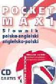 Pocket Maxi. Słownik polsko angielski angielsko-polski z płytą CD