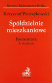 Pietrzykowski Krzysztof - Spółdzielnie mieszkaniowe. Komentarz