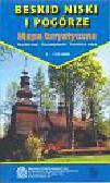 Beskid Niski i Pogórze - mapa turystyczna