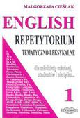 Cieślak Małgorzata - English 1. Repetytorium tematyczno-leksykalne