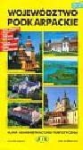 Województwo podkarpackie Mapa administracyjno-turystyczna