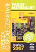Pakiet maturalny Wiedza o społeczeństwie Matura 2007