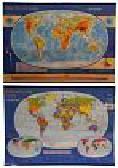 Świat Mapa podręczna fizyczyczno-administracyjna