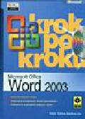 Word 2003 Krok po kroku