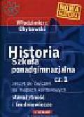 Chybowski Włodzimierz - Historia 1 Starożytność i średniowiecze Zeszyt ćwiczeń na mapach konturowych. Szkoła ponadgimnazjalna