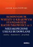 Kalinowski Jacek - Kompendium wiedzy o Krajowym Standardzie Rachunkowości 3 Niezakończone usługi budowlane
