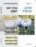 Anna Wystrychowska - Matura 2007 Język polski Zadania do matury Zeszyt 3