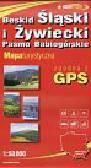 Beskid Śląski i Żywiecki Pasmo Babiogórskie mapa turystyczna 1:50 000. zgodna z GPS