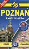 Poznań plan miasta 1:20 000. wersja kieszonkowa