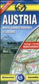 Austria mapa samochodowa 1:500 000