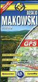 Beskid Makowski mapa turystyczna 1:50 000. zgodna z GPS