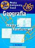 Geografia Mapy konturowe Polska, kontynenty, świat