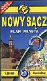 Nowy Sącz plan miasta 1:20 000. wersja kieszonkowa