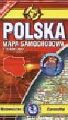 Polska mapa kieszonkowa 1:1 400 000