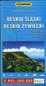 Beskid Śląski Beskid Żywiecki 1:50 000 mapa turystyczna