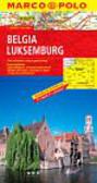 Belgia i Luksemburg mapa Marco Polo