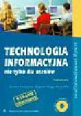 Krawczyński Edward, Talaga Zbigniew, Wilk Maria - Technologia informacyjna nie tylko dla uczniów Podręcznik z płytą CD. Szkoły ponadgimnazjalne