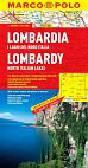 Opracowanie zbiorowe - Lombardia 1:300 000 - mapa Marco Polo
