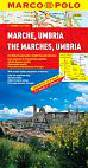 Opracowanie zbiorowe - Umbria 1:300 000 - mapa Marco Polo