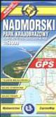 Nadmorski Park Krajobrazowy mapa turystyczna 1:50 000