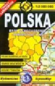 Polska mapa samochodowo administracyjna 1:2 000 000. wersja miniaturowa