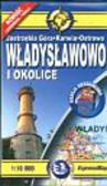 Władysławowo i okolice 1:10 000 Mapa turystyczna laminowana