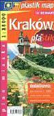 Kraków 1:18 000  plan miasta laminowany