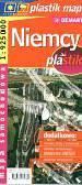 Niemcy 1:925 000 mapa samochodowa laminowana