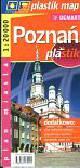 Poznań 1:20 000 plan miasta laminowany