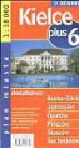 Kielce plus 6 1:18 000 plan miasta