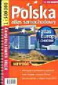 Polska 1:500 000 plus Europa atlas samochodowy