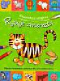Rysuję zwierzęta książeczka z naklejkami Nauka rysowania zwierząt dla najmłodszych