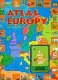 Atlas Europy dla dzieci z kartami