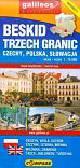Beskid Trzech Granic Czechy Polska Słowacja Mapa turystyczna 1: 75 000