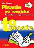 Makarewicz Helena - Pisanie po rosyjsku. Zasady, wzory, ćwiczenia