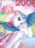 Kalendarz 2008 ścienny Pony