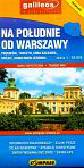 Na południe od Warszawy Mapa turystyczna 1:50 000. Pruszków, Tarczyn, Góra Kalwaria, Grójec, Konstancin-Jeziorna