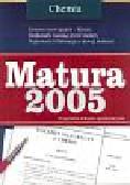 Matura 2005 - chemia
