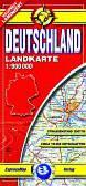 Deutschland - Niemcy 1:900 000. laminowana mapa samochodowa