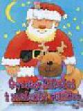 Święty Mikołaj i maleńki renifer