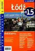 Łódź plus 15 plan miasta